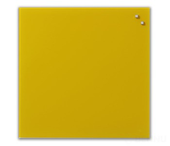Доска стеклянная Naga 45x45 Retro Yellow (10741) - Askell.Moscow. Аскелл.Москва. GlassBoards.ru